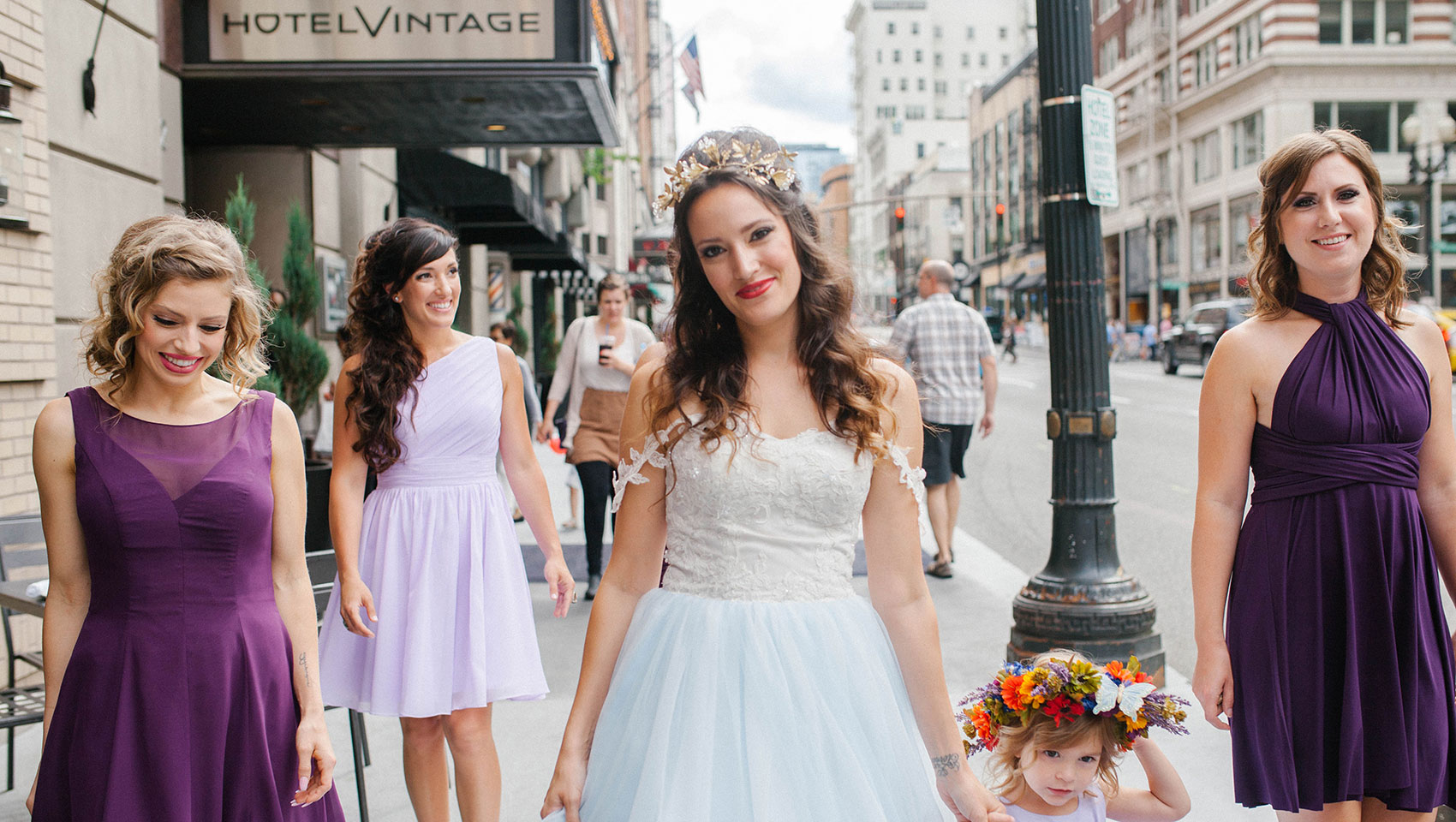 Kimpton hotel vintage wedding