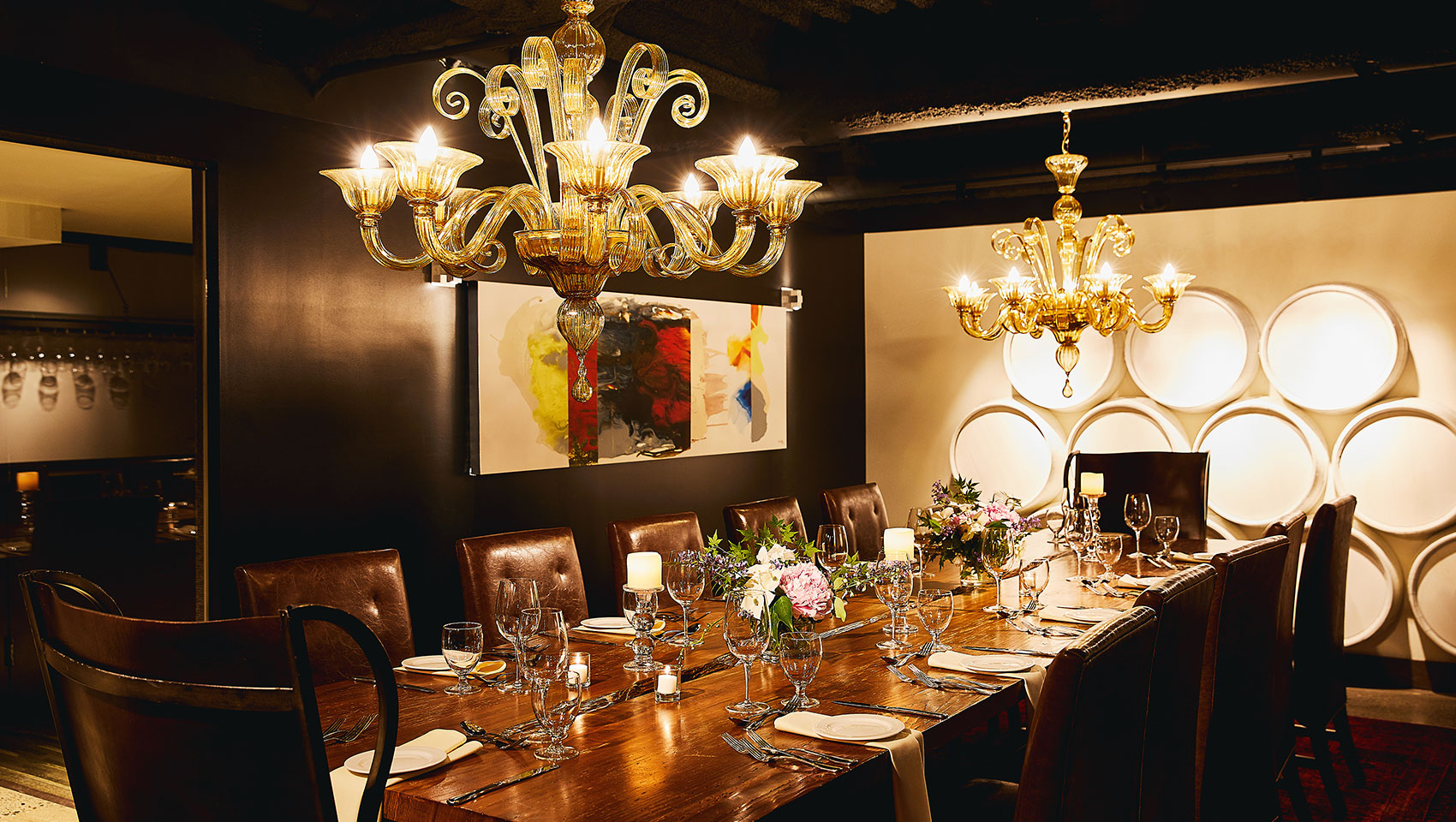 private dining at Kimpton Hotel Vintage Portland