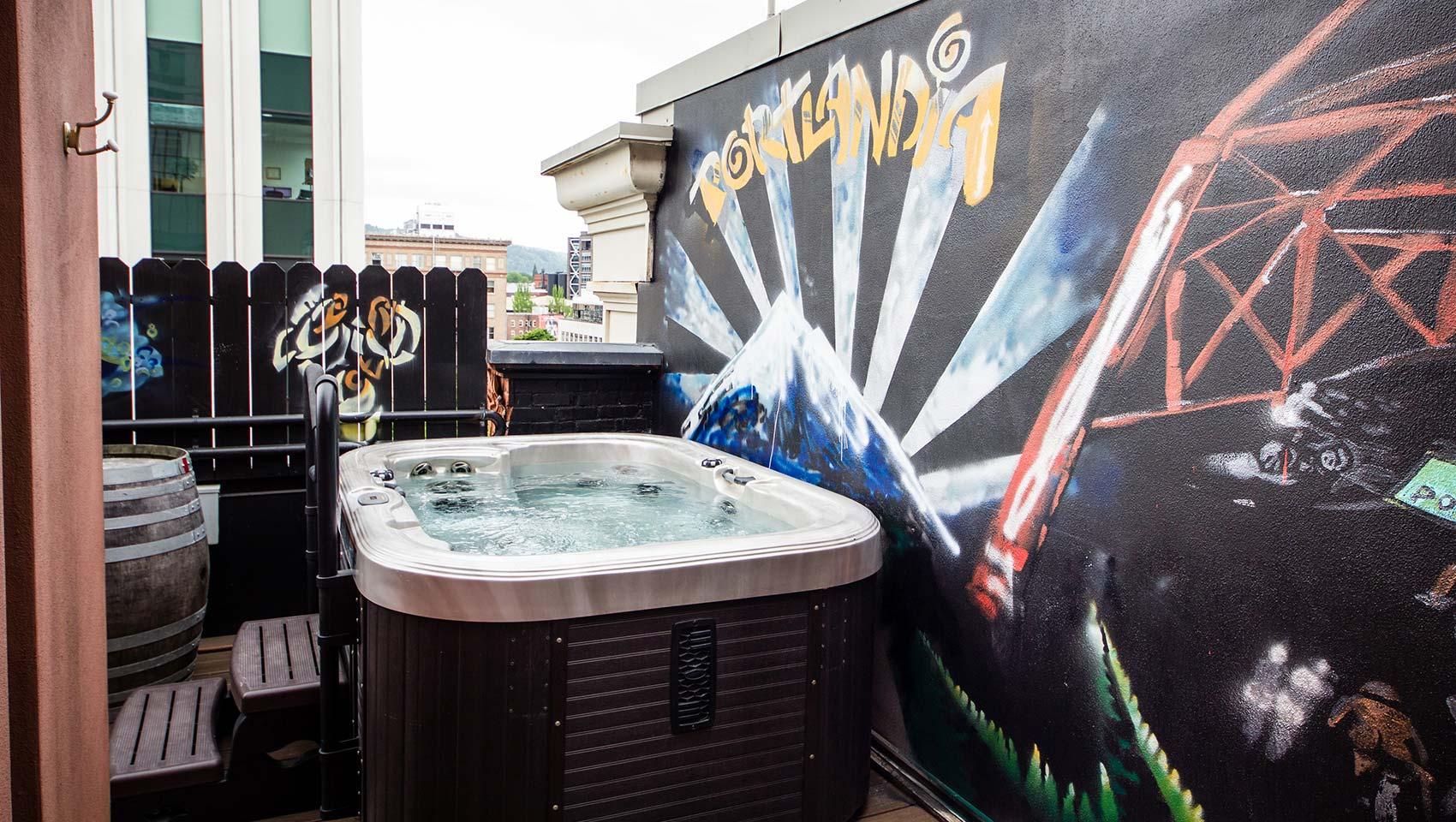 Hotel Vintage Portland Urban Soak Room