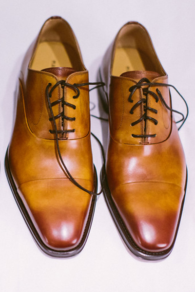 grooms wedding day shoes
